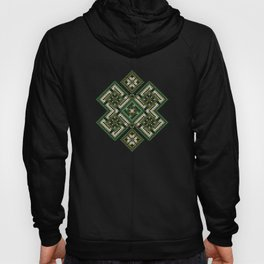 solar stamp / rhythm life. Divinely psychedelic ornament Hoody