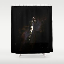 The Seventh Sanctuary in Space Shower Curtain