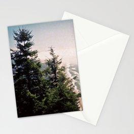 Neahkahnie Mountain Beach Oregon Coast Photo Forest Stationery Cards