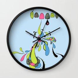 Growing Pain Wall Clock