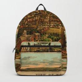 Harrisburg Panorama 1885 Backpack