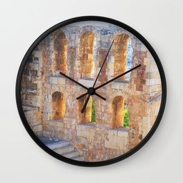 Greek Legends Wall Clock