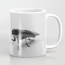 B&W Fly Coffee Mug