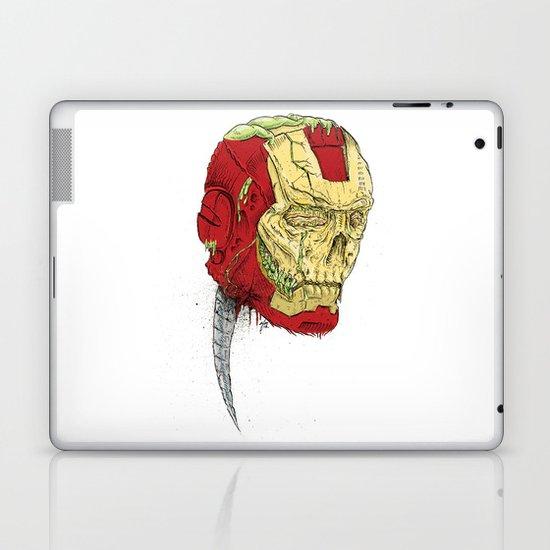 The Death of Iron Man Laptop & iPad Skin