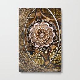 Bless Nest Metal Print