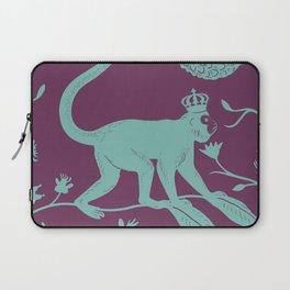 Singerie in purple Laptop Sleeve