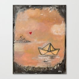 The things that I love 2 Canvas Print