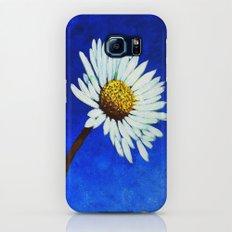 White Daisy  Galaxy S6 Slim Case