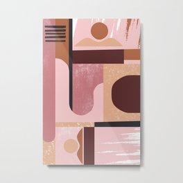 Monochromatic Metal Print