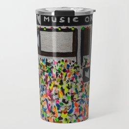 Music On Ibiza Travel Mug