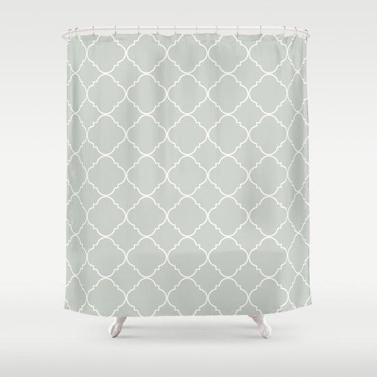 Moroccan Sea Salt Shower Curtain