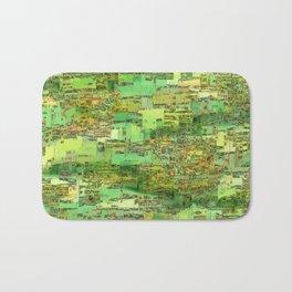 Green City on a Hill Bath Mat