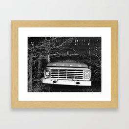 Grandpa's Ford Framed Art Print