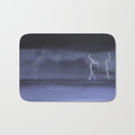 lightning Bath Mat