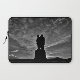 The Commando Memorial sunset Laptop Sleeve