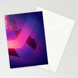 Glowing arms Stationery Cards