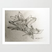 3D Style Art Print