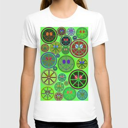 Night Smiley Creatures T-shirt