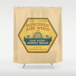 Hundred Acre Wood Honey Mead Shower Curtain