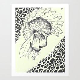 Cualli Art Print