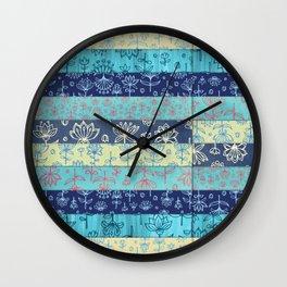 Lily & Lotus Layers Wall Clock