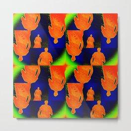 Orange guy Metal Print