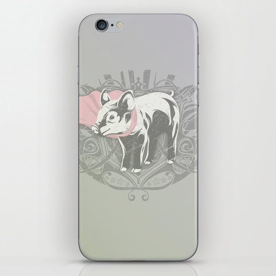 Fearless Creature: Oinx iPhone & iPod Skin