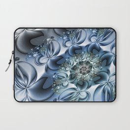 Dynamic Spiral, Abstract Fractal Art Laptop Sleeve