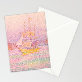 "Paul Signac ""Harbour at Marseilles"" Stationery Cards"