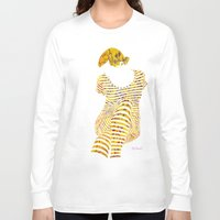 batik Long Sleeve T-shirts featuring BATIK GIRL by NURUL A.
