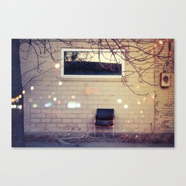 Lonely Day Canvas Print