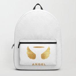 Golden angel Backpack