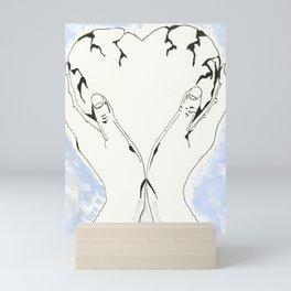 The Melancholy of Khaled Altuwaijri Mini Art Print
