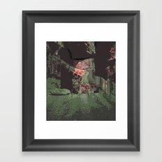 Path Eater Framed Art Print