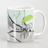 tooth Mugs featuring Family Tooth by infloence