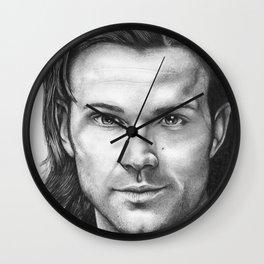 Jared Padelecki Wall Clock