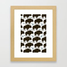 Follow The Herd Framed Art Print