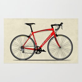 Specialized Racing Road Bike BicycleRoad Cycling Rug