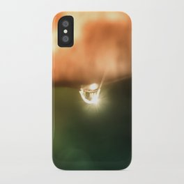 Just a drop of water in an endless sea iPhone Case