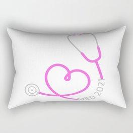 Med 2021 Stethocope Rectangular Pillow