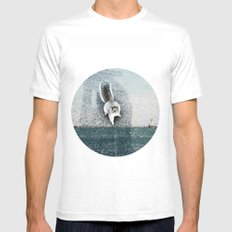 I LIVE IN A DREAM SMALL White Mens Fitted Tee