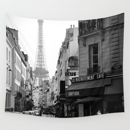 Paris Street Wall Tapestry
