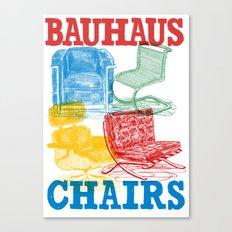 Bauhaus Chairs Canvas Print