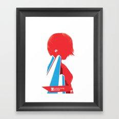 Mirror's Edge Framed Art Print