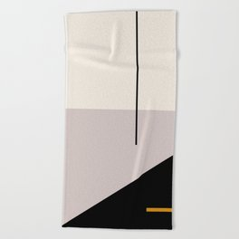 abstract minimal 28 Beach Towel