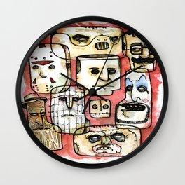 Oh The Horror Wall Clock