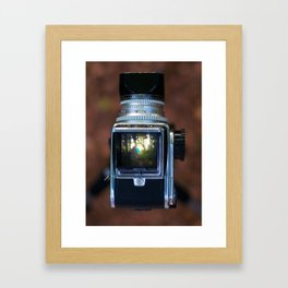 let it rain Framed Art Print