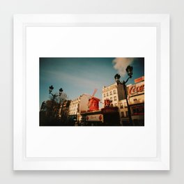 Pigalle Framed Art Print