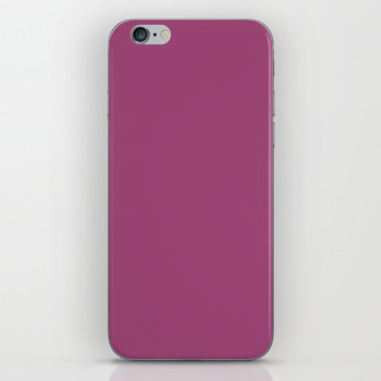 Magenta haze iPhone & iPod Skin