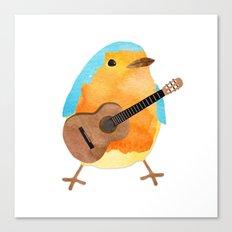 music bird Canvas Print